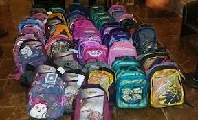 توزيع الحقيبة المدرسية
