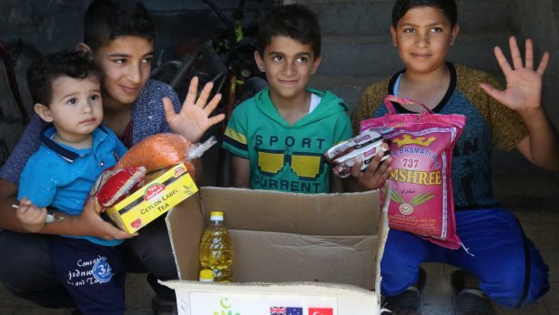 Distribution of packages of Ramadan